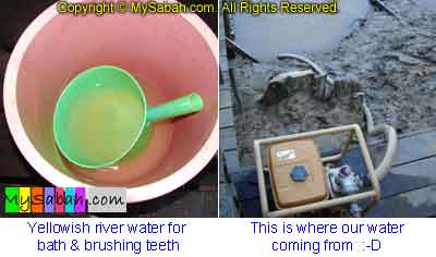 Water for shower