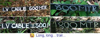 Trail mark