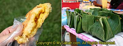 Cap-kuih and Bachal food