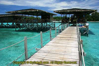 Jetty of Mari Mari Dive Lodge