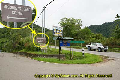 Junction to Miki Survival Camp