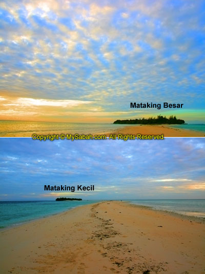 Mataking Kecil and Mataking Besar Islands
