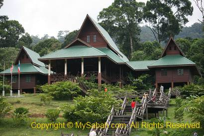 Maliau Basin Information Building