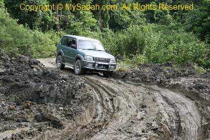 4-wheel drive in mud