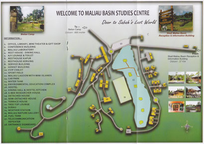 Leaflet: layout map of MBSC
