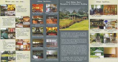 Leaflet: facilities of MBSC