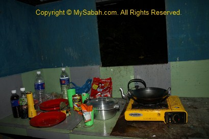 Kitchen of Mt. Trusmadi