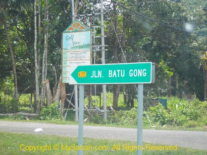 Junction to Batu Gong