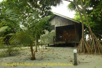 Beach Villa of Pom-Pom Island Resort