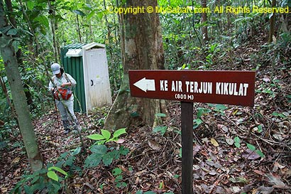 Junction to Kikulat Waterfall