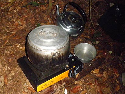 Portable cooking stove