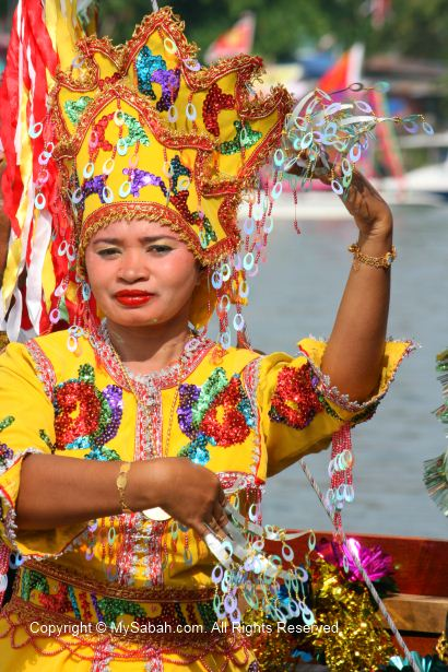 Sea Bajau dancer