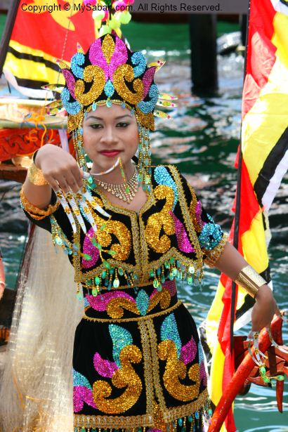 Colorful Sea Bajau costumes