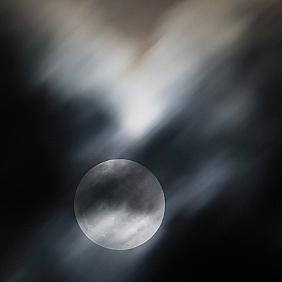 cloud covering moon
