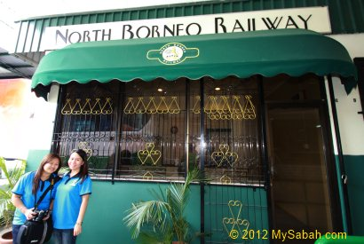 office of North Borneo Railway in Tanjung Aru Train Station