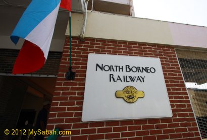 entrance of North Borneo Railway