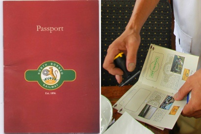 Train passport of North Borneo Railway