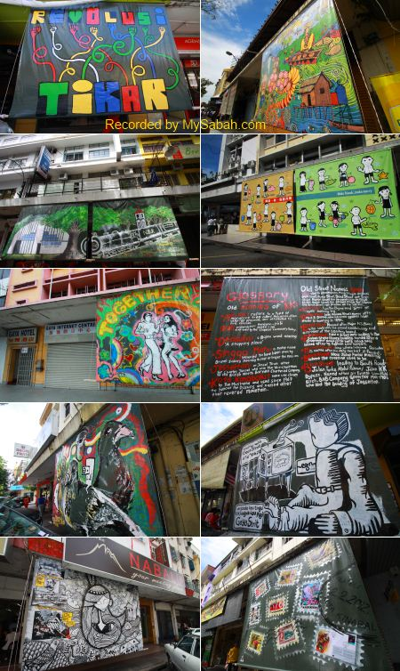 street art in Gaya Street