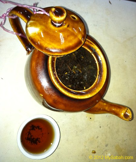 Chinese tea (Tie Guanyin)