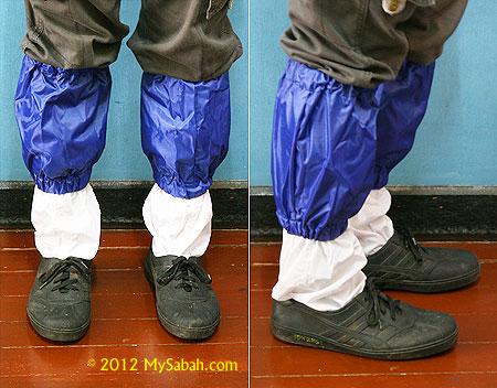 deluxe leech socks outfit