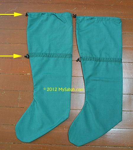 long leech socks