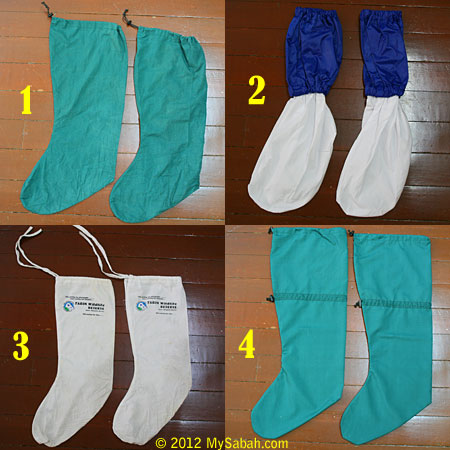 types of leech socks