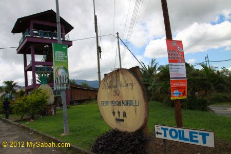 junction to Pekan Nabalu