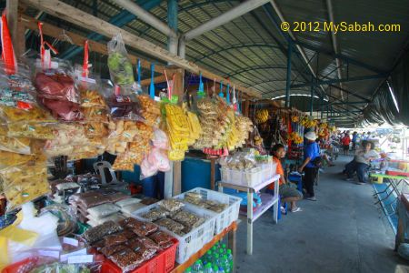 food market of Pekan Nabalu
