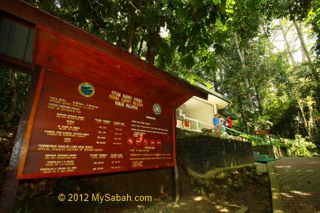 entrance to Canopy Walkway of Poring & Poring Canopy Walkway the highest in Sabah - MySabah.com