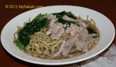 Beaufort Mee (Beuafort Fried Noodle)