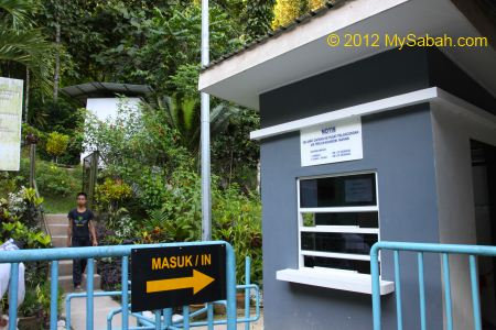 ticket counter of Kiansom