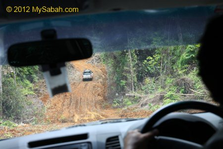 4-wheel drive in Tawai