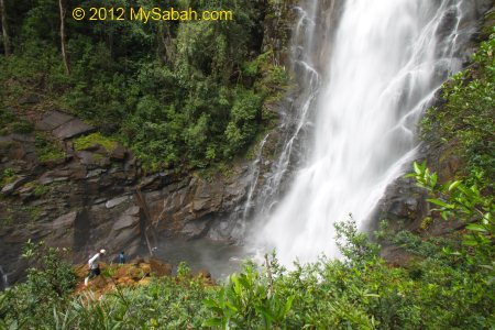 Tawai Waterfall in Telupid