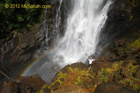 view point of Tawai Waterfall