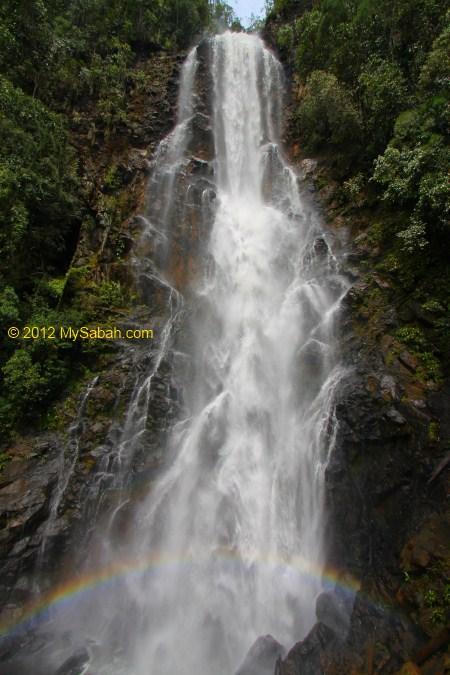 Tawai Waterfall in Tawai Forest Reserve