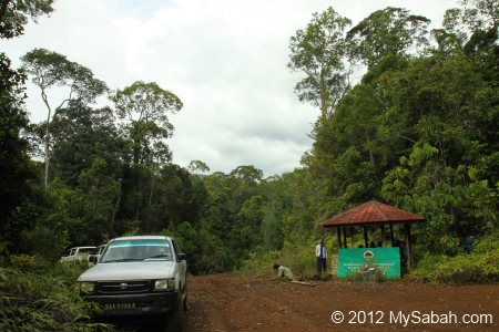 starting point to Tawai Waterfall