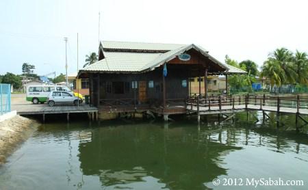 office of Pulau Tiga Resort in Kuala Penyu