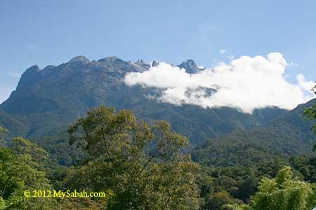 Mount Kinabalu, highest mountain in Malaysia