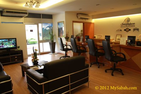 office of Sutera Sanctuary Lodges