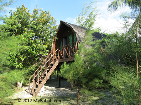 deluxe room of Mari-Mari Backpackers Lodge
