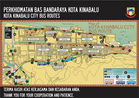public bus transportation in kota kinabalu Find kota kinabalu sabah malaysia - feb 24, 2016:city bus terminal (north)  located at inanam kota kinabalu is a express bus hub to eastern part of sabah.