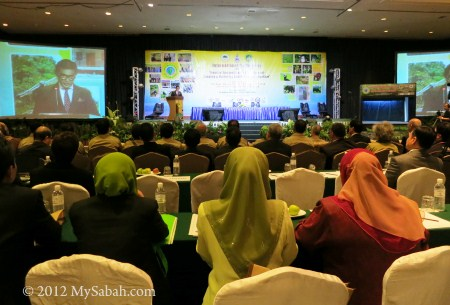 speech by Datuk Sam Mannan during International Conference on Heart of Borneo (HoB)