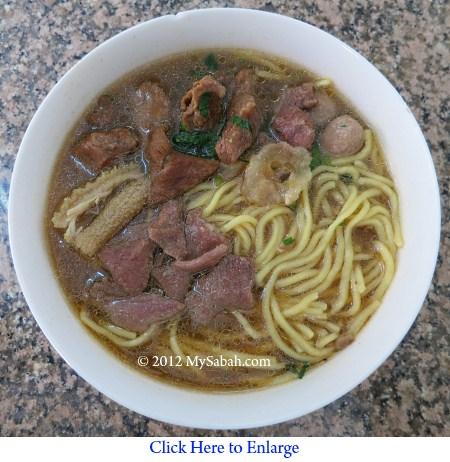 Ngiu Chap noodle of Nyuk Pau Zai