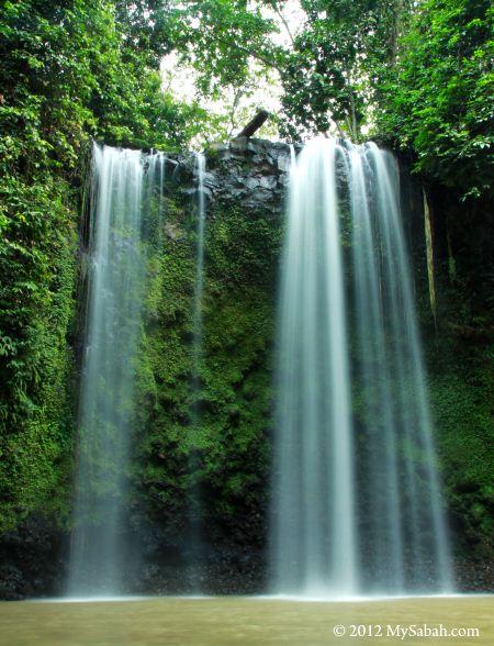 Madai Waterfall of Kunak