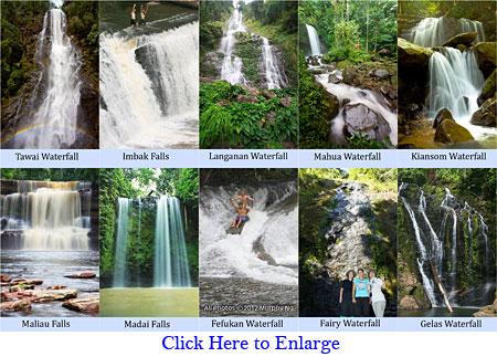 Sabah's Top 10 Waterfall