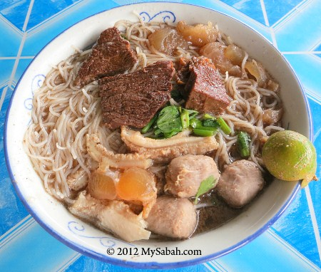 Beef Noodle of Mee Sup Pipin