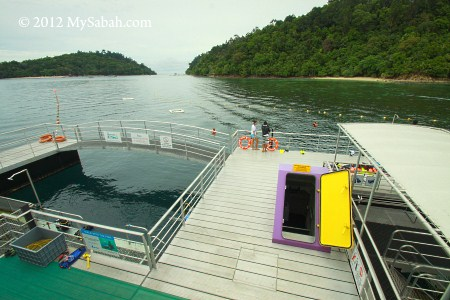 Sapi and Gaya Island