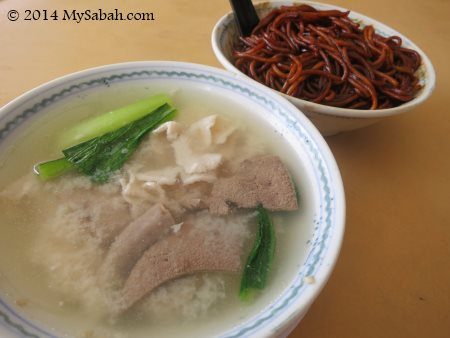 Pork noodle of Sinsuran Sang Nyuk Mee
