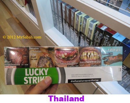 Thailand cigarette