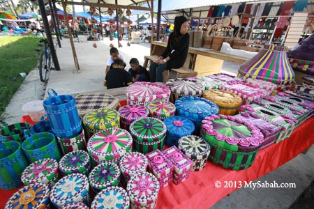 colorful handicraft